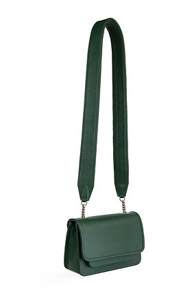 Vaskala mini moss green with strap