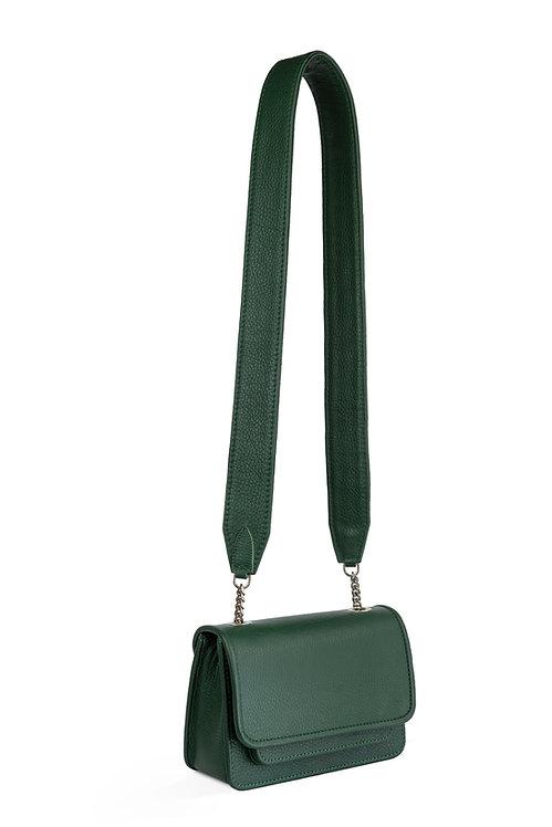 Vaskala mini moss green with strap