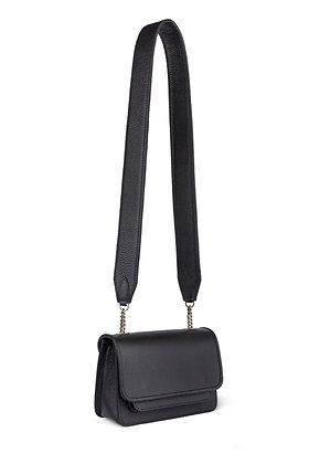 W - Vaskala mini black with strap