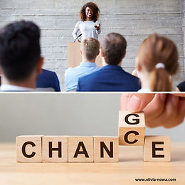#1 Bring CHANGES to create new CHANCES at your next event!