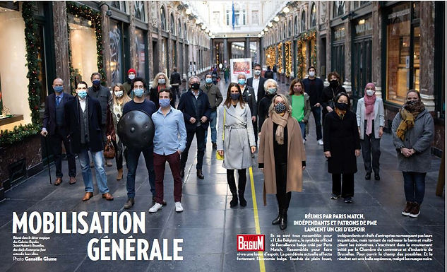 On parle de moi dans Paris Match!