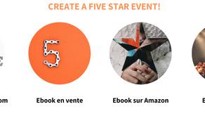 Comment obtenir 5 étoiles à son event? #experience