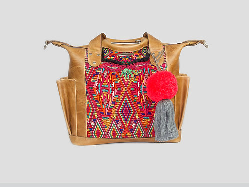 Huipil Convertible Day Bag - 1696