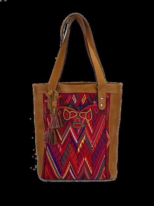Huipil Leather Bags - Artisan Tote - 1103