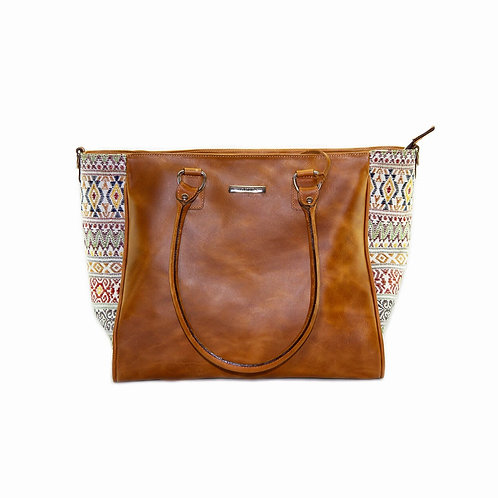 Ladies Leather Tote -YESSA Tote - 3266