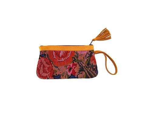 Fairtrade accessories, handmade clutch.