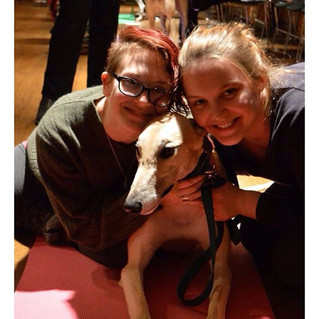 GPG Fosters visited Mount Holyoke College to help students de-stress before final