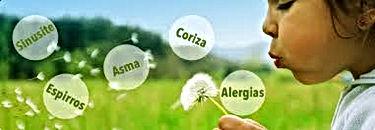 doenças alérgicas, rinite, asma, bronquite, urticária