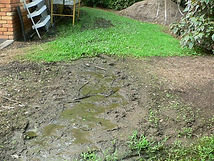 Septic trenches failure