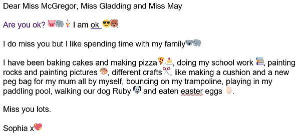 Sophia's email.JPG