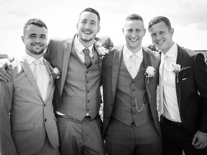 Pre wedding Groomsmen