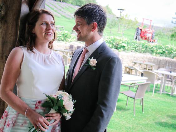 Dawn & Dean's wedding at Blackhourse Beamish