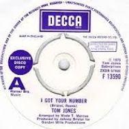 I Got Your Number Decca 1975