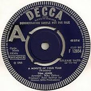 A Minute Of Your Time Decca 1968