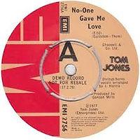 No One Gave Me Love EMI 1977