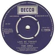 Love Me Tonight Decca 1969