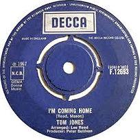 I'm Coming Home Decca 1967