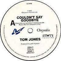 Couldn't Say Goodbye Chryallis 1991