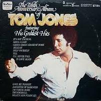 Tom Jones 10th Anniversary Album TEE VEE 1975