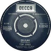 Delilah Decca 1968