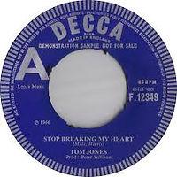 Stop Breaking My Heart Decca 1966