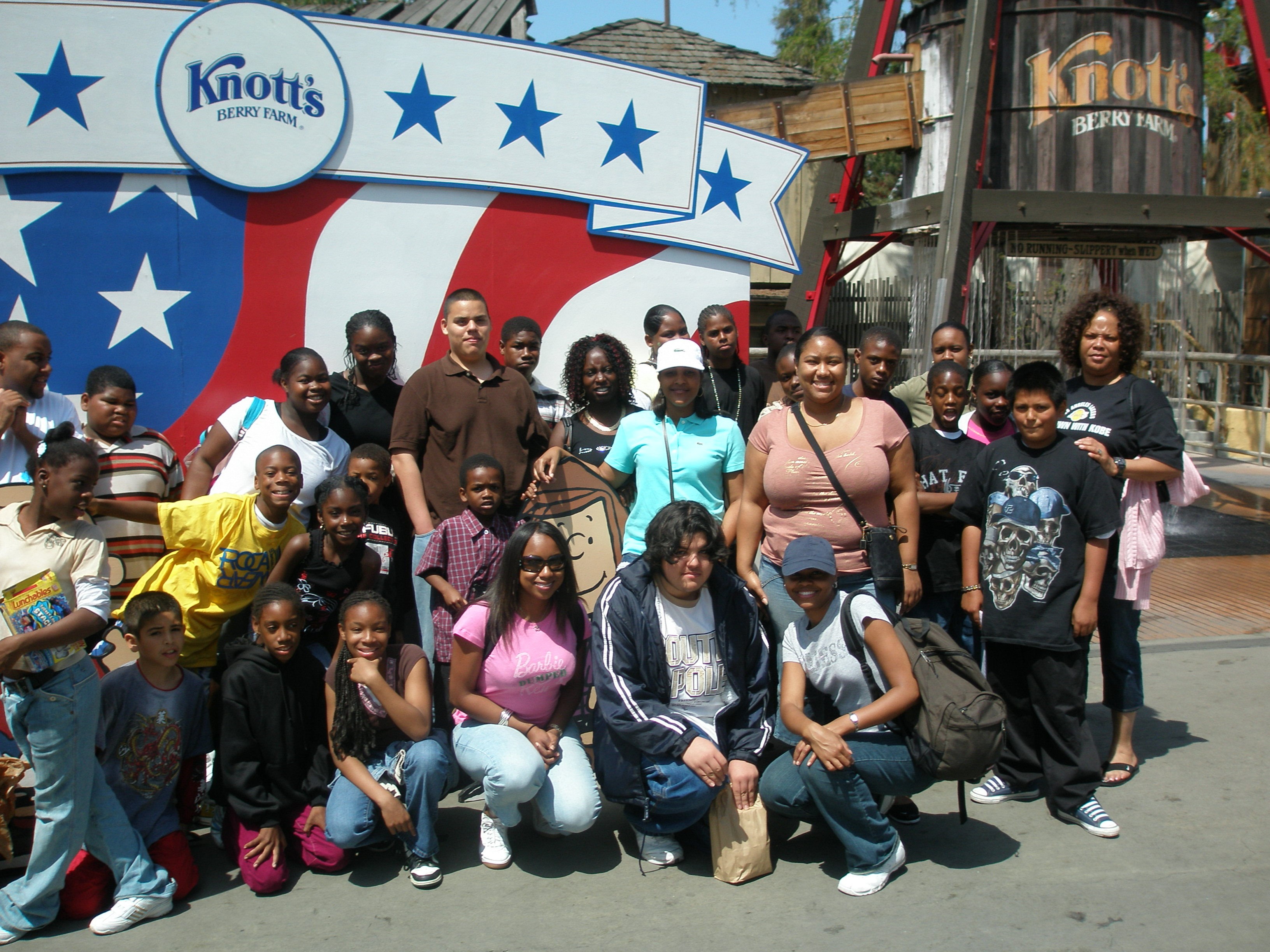 CLIENTS AT KNOTTS 1