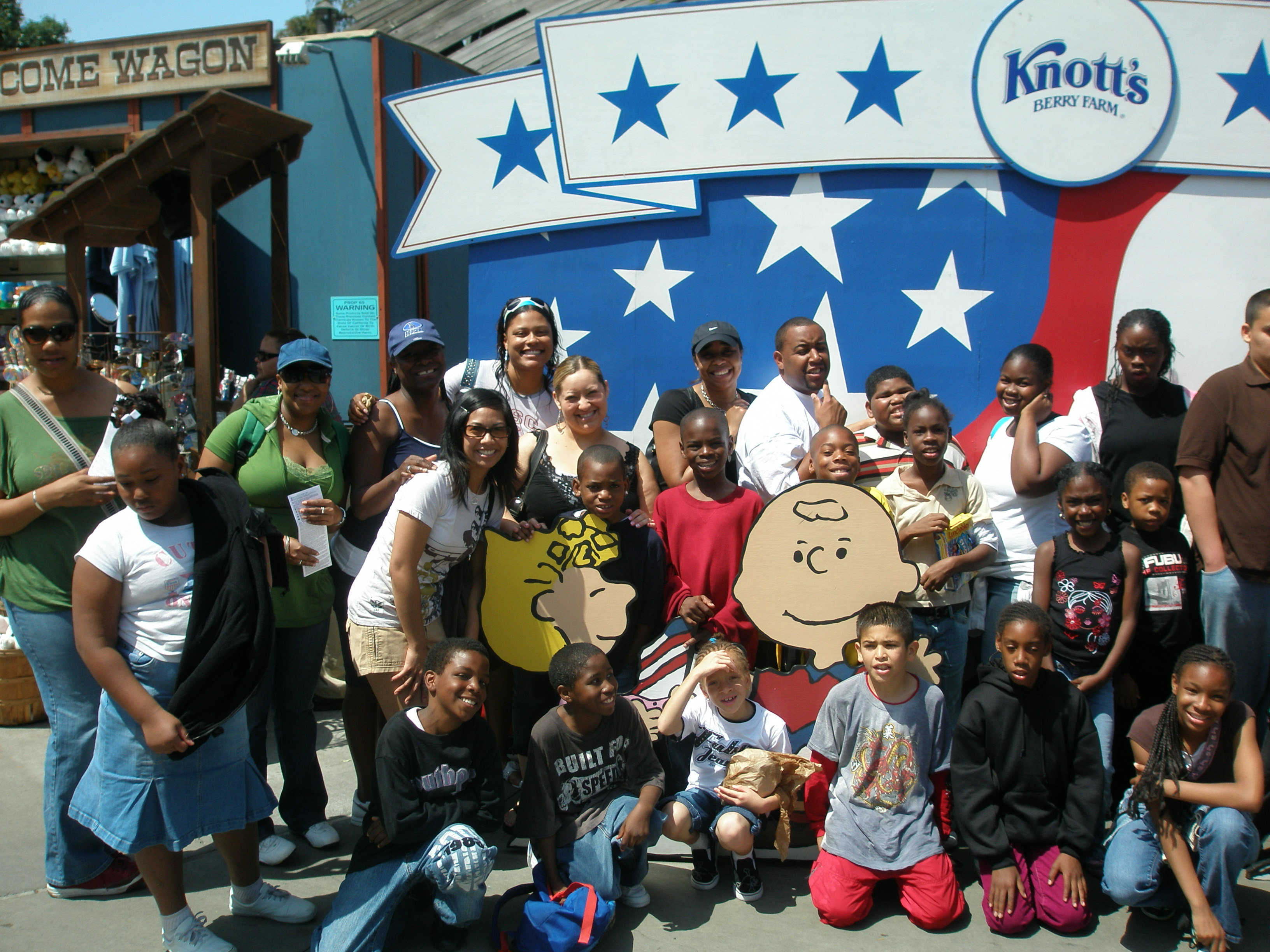 CLIENTS AT KNOTTS