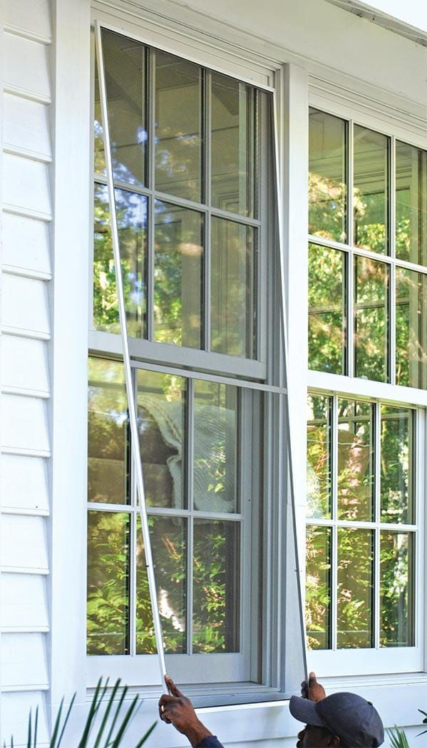 Window Frame and Screen install