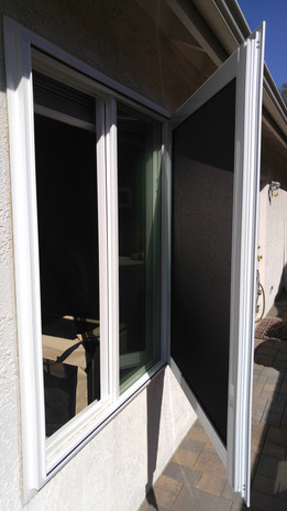 Vista Security Screen Window - Fire Escape