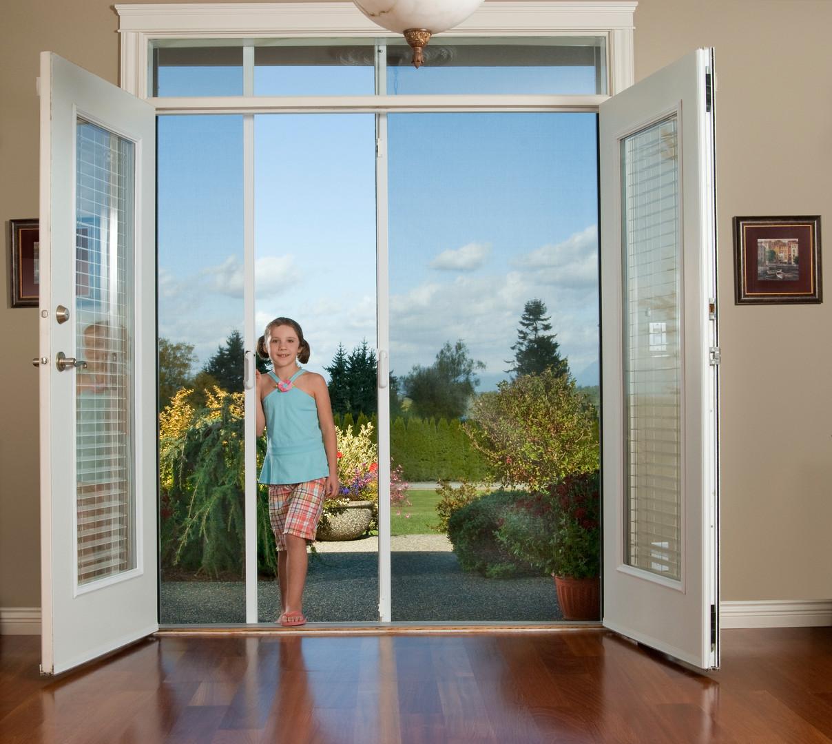 Mirage Retractable Screen Door