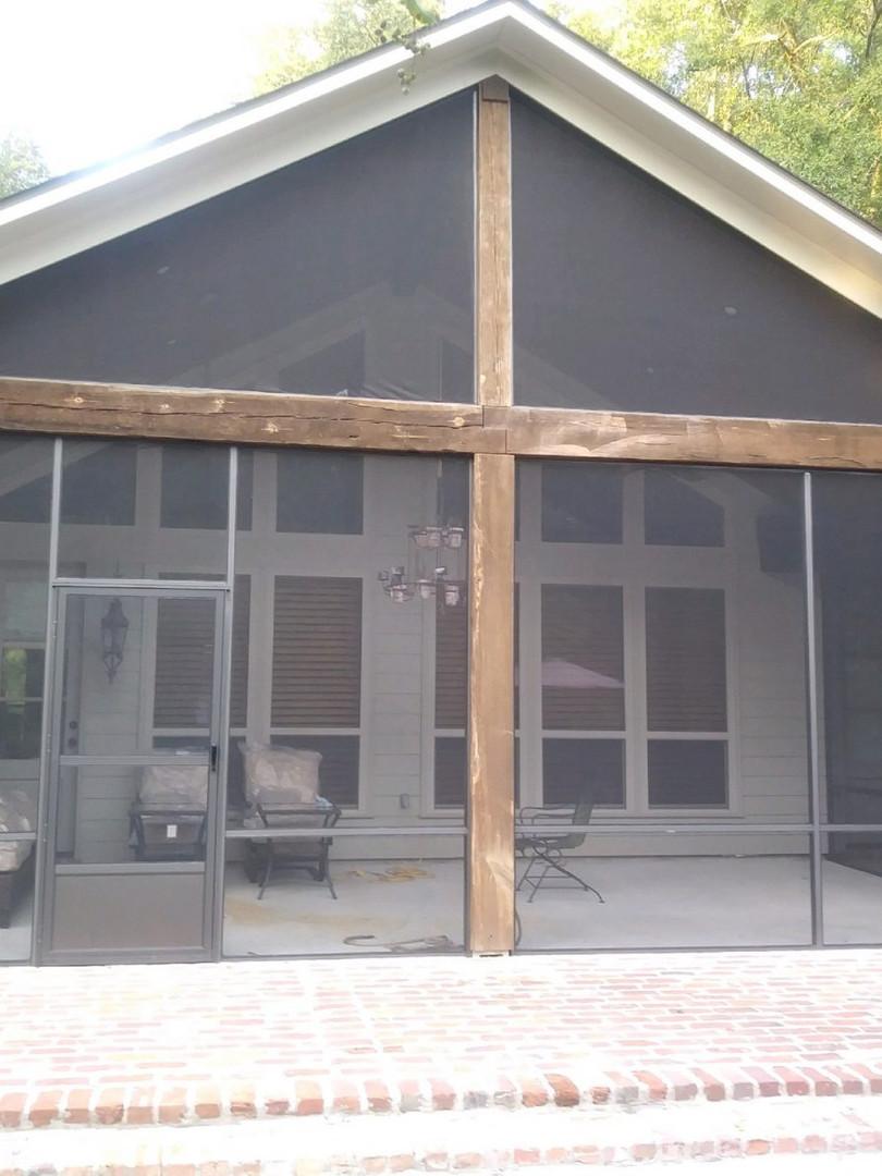 Enclosed Screen Patio Porch