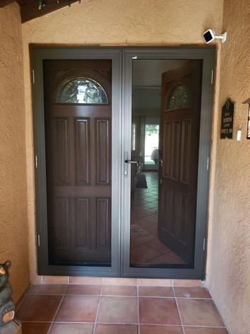 Double Security Screen door