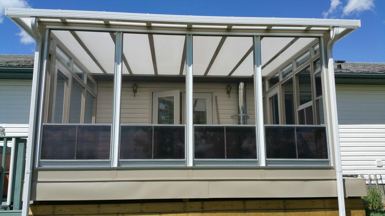 Porch Conversion 75% open