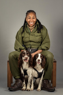 Charity photoshoot for Pets As Therapy
