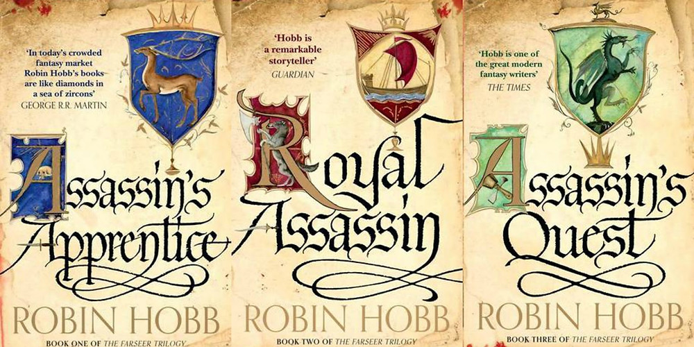 The first trilogy of the Elderlings series
