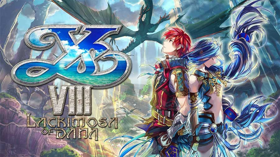 "Title image for video game ""Ys 8: Lacrimosa of Dana"""