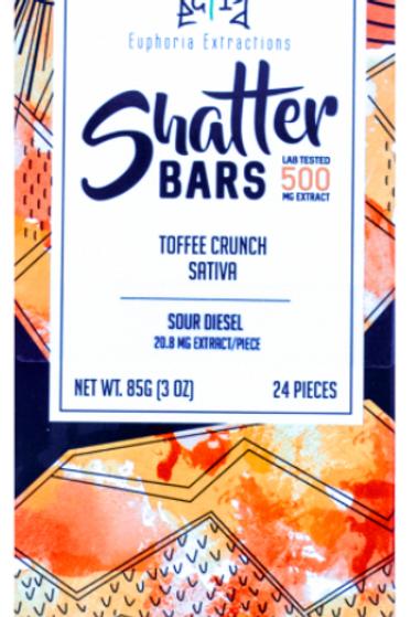 Euphoria Shatter Bars (Sativa)