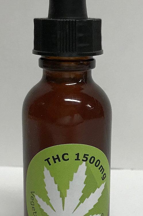Tintures THC 1500 mg