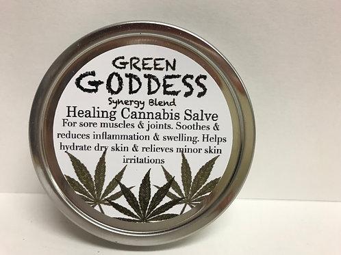 Green Goddess Cannabis Healing Salve