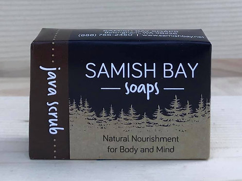 1-Ounce Java Scrub Soap