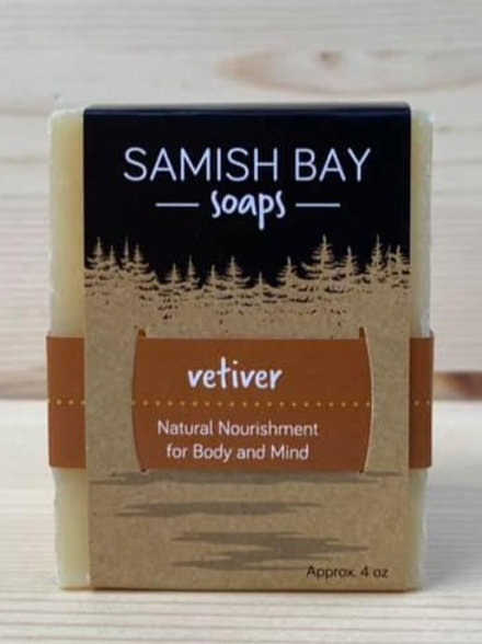 4-Ounce Vetiver Soap