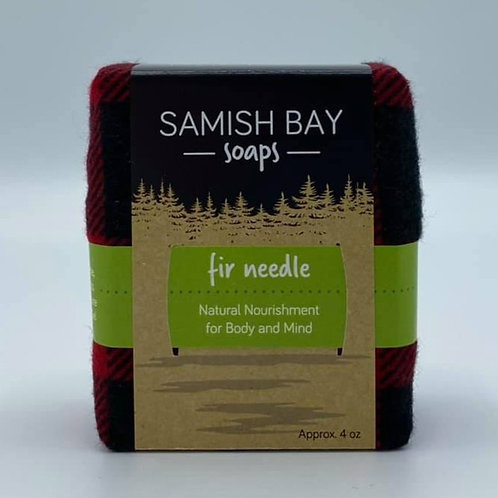 4-Ounce Holiday Flannel Fir Needle Soap
