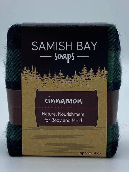 4-Ounce Cabin Collection Cinnamon Soap