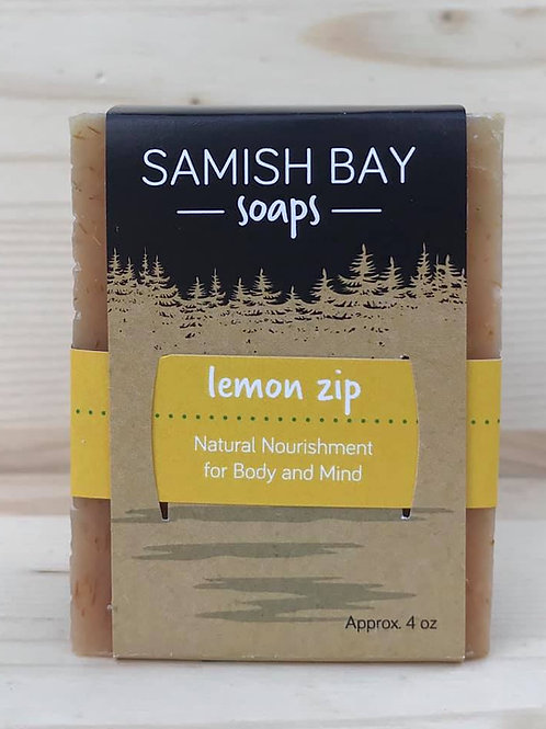 4-Ounce Lemon Zip Soap
