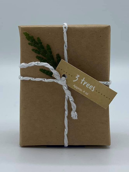 4-Ounce Paper Wrapped 3 Trees Soap