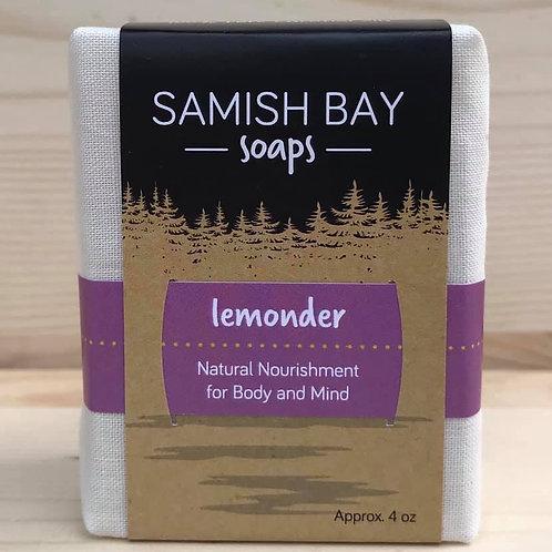 4-Ounce Fabric Wrapped Lemonder Soap