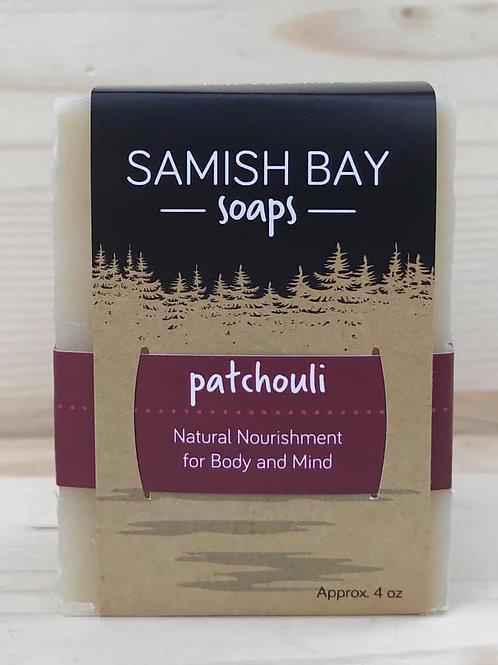 4-Ounce Patchouli Soap