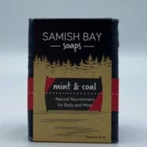 4-ounce Mint & Coal Soap