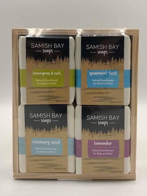 Sea Glass 4-Pack