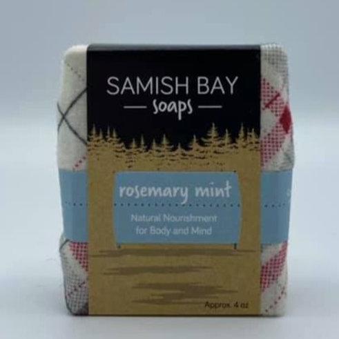 4-Ounce Festive Rosemary Mint Soap